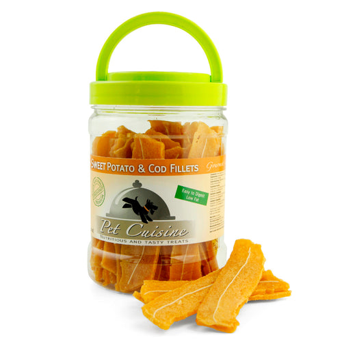 Pet Cuisine Sweet Potato & Cod Fillets 340g
