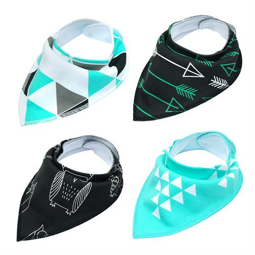 4pcs Adjustable Bandana Collar (10-12.8