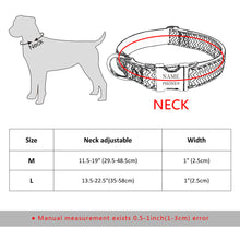 Load image into Gallery viewer, Nylon Custom Engraved Pet Collar