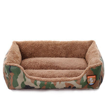 Load image into Gallery viewer, Camouflage Cuddler Pet Bed