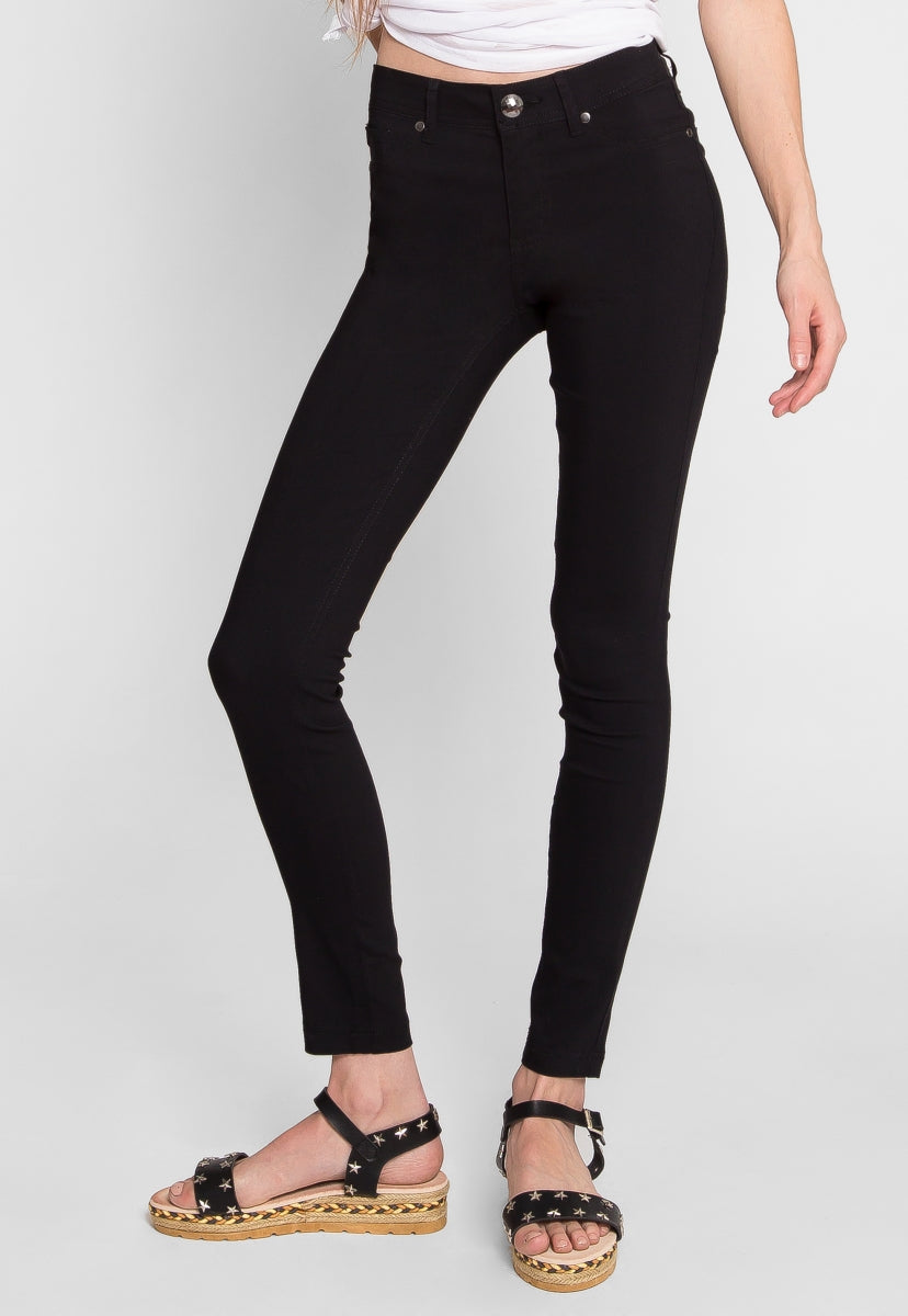 Arctic Skinny Pants in Black - Pants - Wetseal