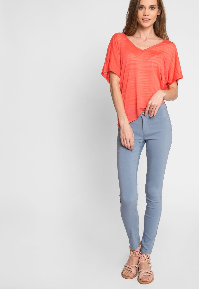 Arctic Skinny Pants in Blue - Pants - Wetseal