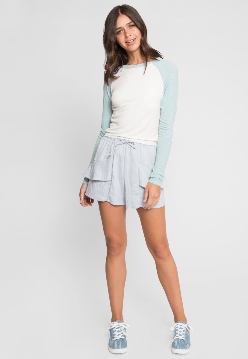 Strathmore Shorts in Gray - Short - Wetseal