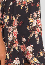 Vintage Florals Fit and Flare Dress
