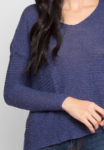 Breezy Night Sweater in Blue
