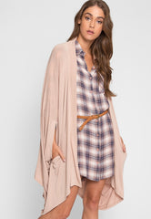 Lakewood Oversized Cardigan by Wet Seal