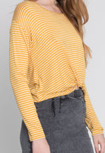 Last Chance Stripe Knit Top