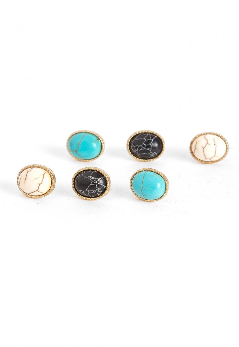 Desert Finds Stud Earring Sets - Jewelry - Wetseal