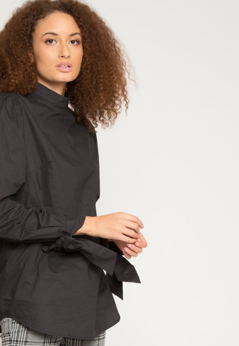 Alba Puff Sleeve Blouse - Shirts & Blouses - Wetseal