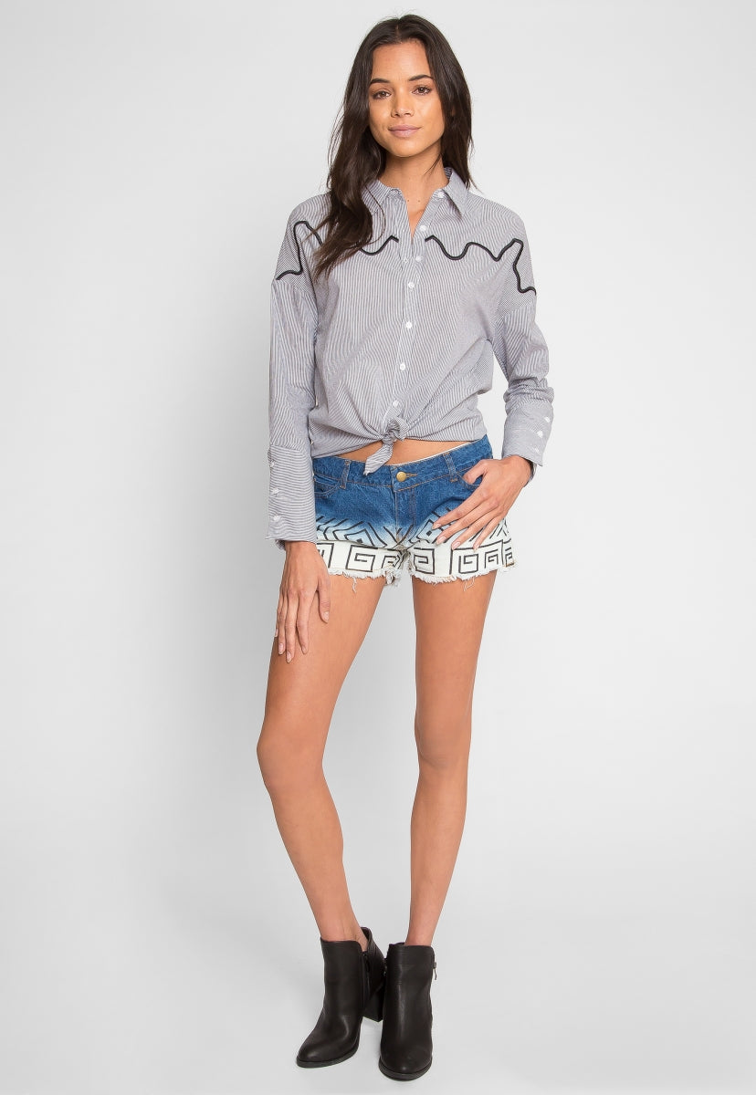 Cleo Denim Shorts - Short - Wetseal