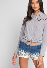 Cleo Denim Shorts