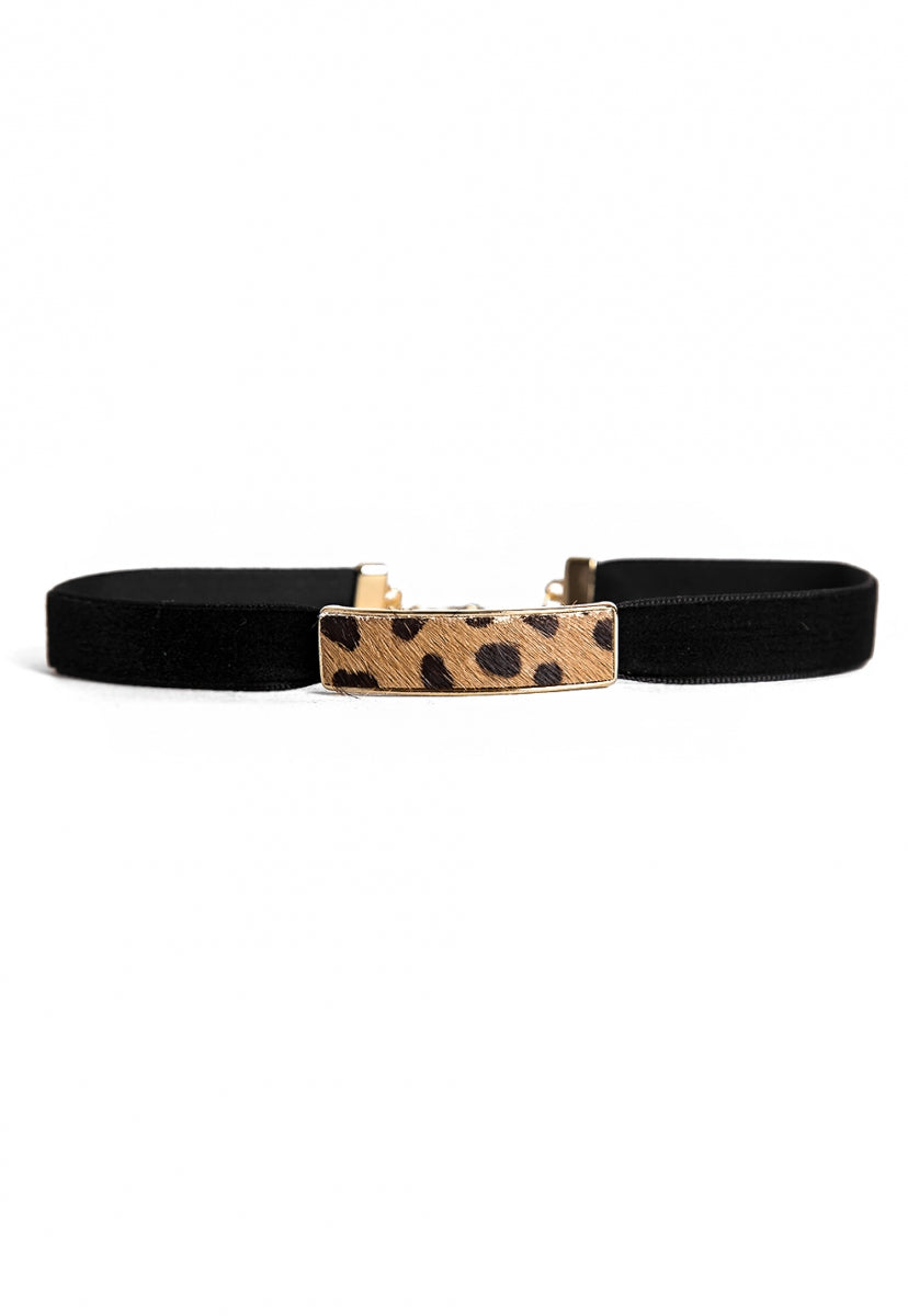 High Ground Cheetah Choker Set - Jewelry - Wetseal