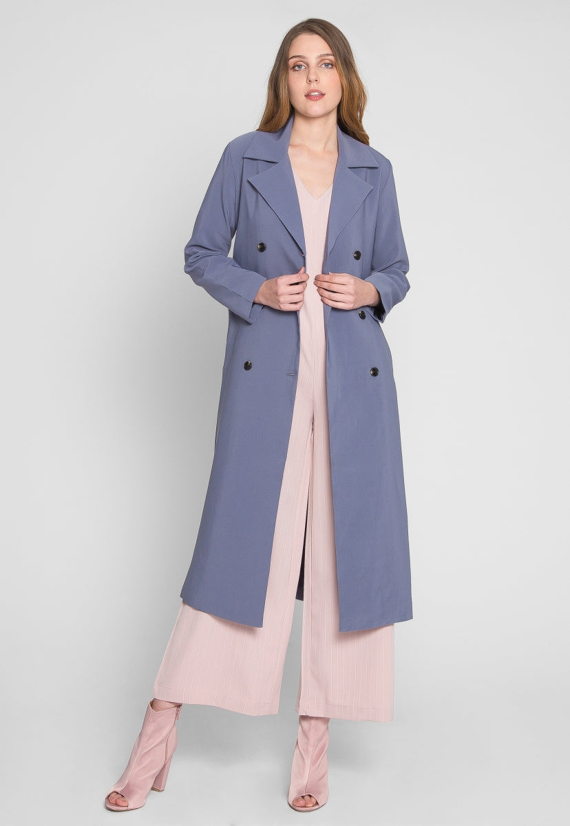 State of Mind Luxe Trench Coat - Jackets & Coats - Wetseal