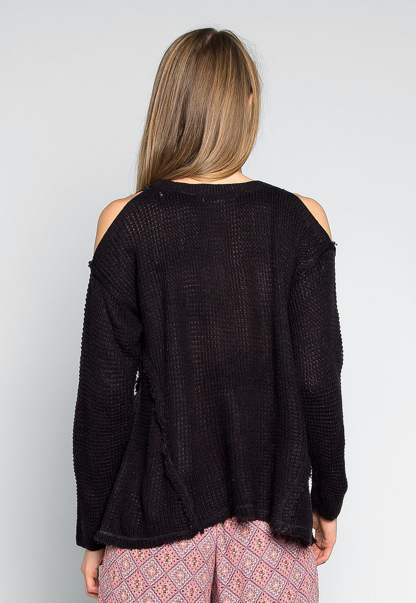 Girls Like You Pullover Sweater in Black - Sweaters & Sweatshirts - Wetseal