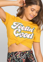 Feelin' Good Retro Graphic Tee