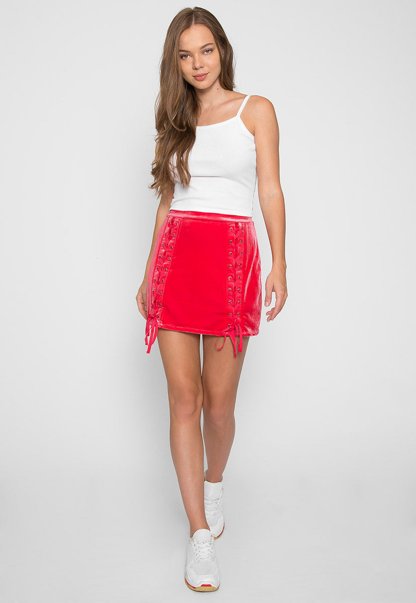 Dreams Crop Tank Top in White - Tanks - Wetseal