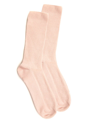 Quartz Rib Knit Crew Socks