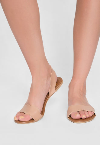 Ballad Scalloped Sandals