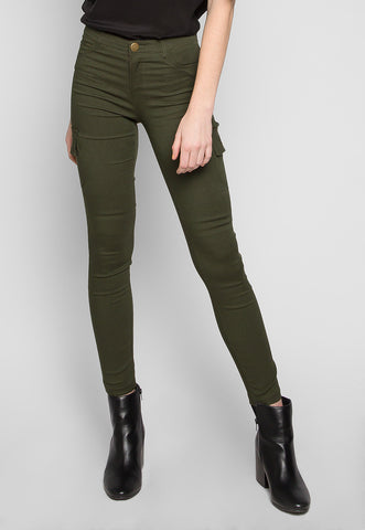 Get Away Cargo Pants in Olive