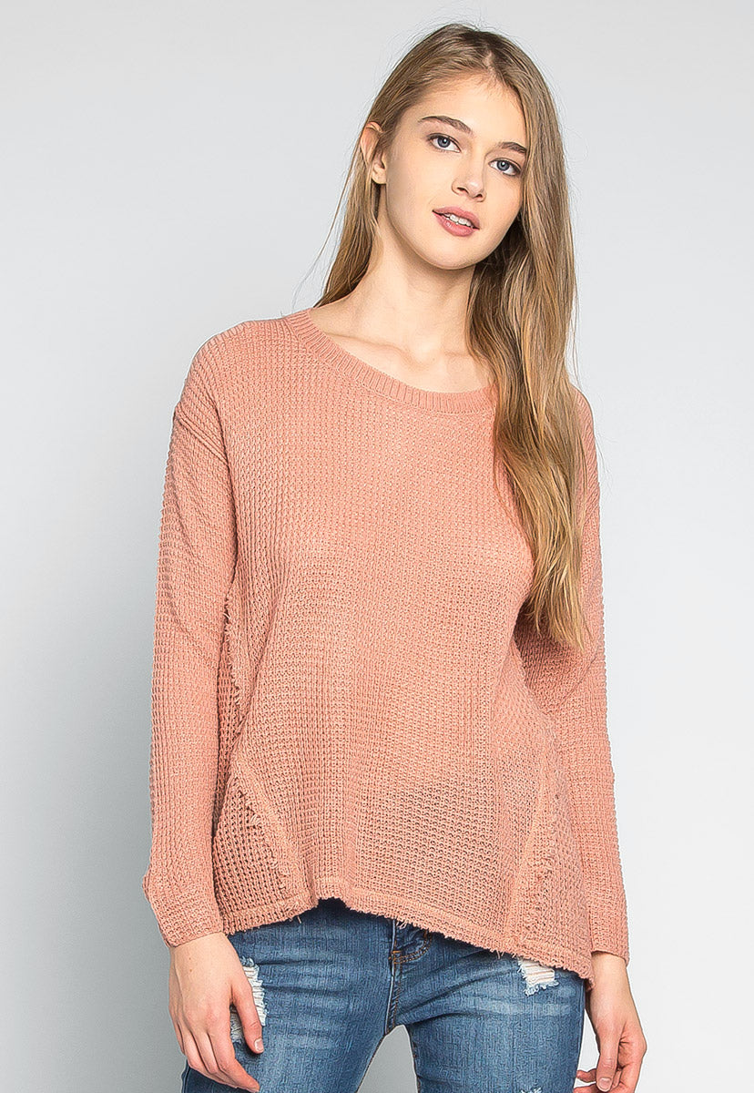 Girls Like You Pullover Sweater in Pink - Sweaters & Sweatshirts - Wetseal