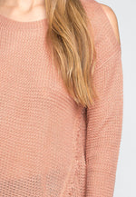 Girls Like You Pullover Sweater in Pink