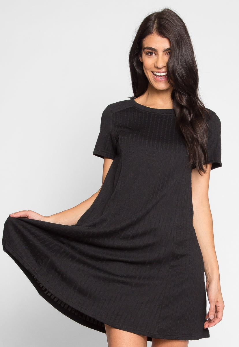 You and I Knit Dress in Black - Dresses - Wetseal