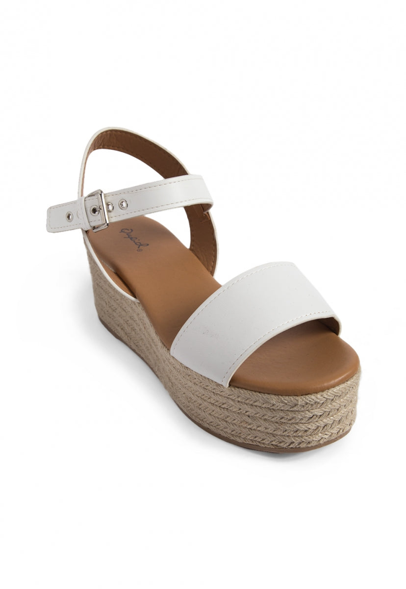 Isla Espadrille Platform Wedges - Shoes - Wetseal