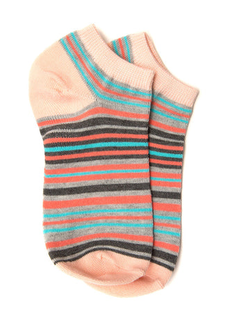 Tulip Stripe Ankle Socks