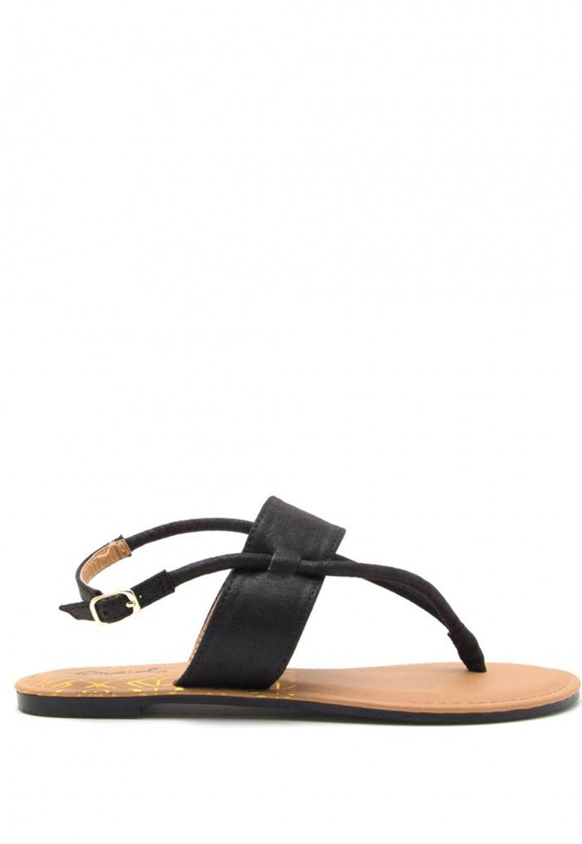 Greece Slingback Sandals - Shoes - Wetseal