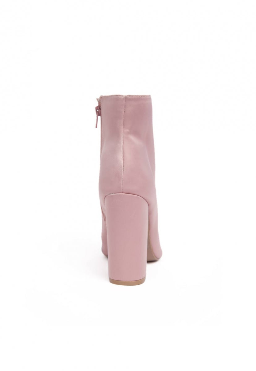 Distance Ankle Boots in Taupe - Shoes - Wetseal
