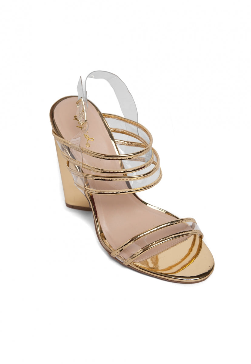 Enchanting Party Strap Sandals - Shoes - Wetseal