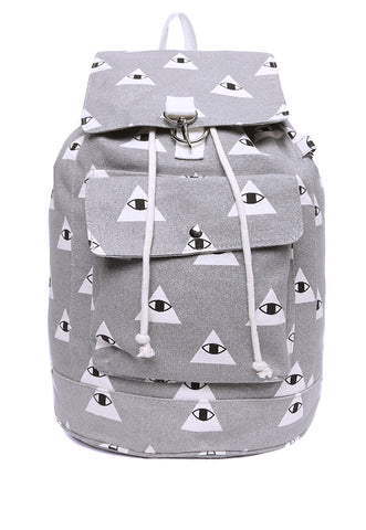 All Eyes On You Rucksack Bag