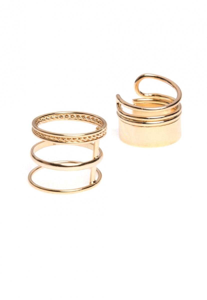Ring set in gold - Jewelry - Wetseal