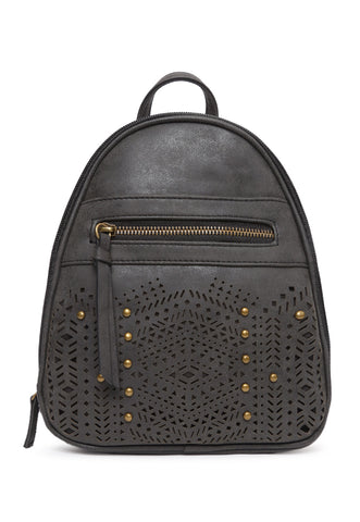 Studded Perforated Stud Mini Backpack