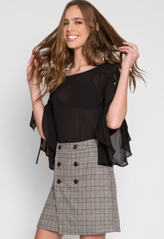 Banning Glen Plaid Skirt