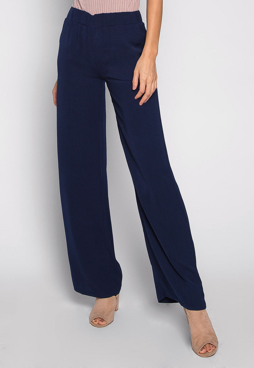 Wake Up & Make Up Wide Leg Pants - Pants - Wetseal