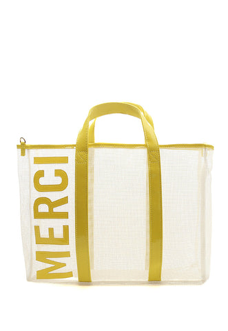 Merci Mesh Satchel Bag