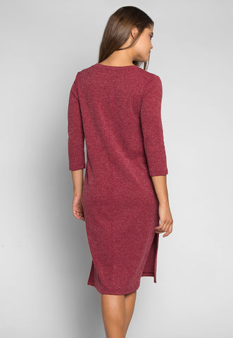 Fashionist Midi Sweater Dress