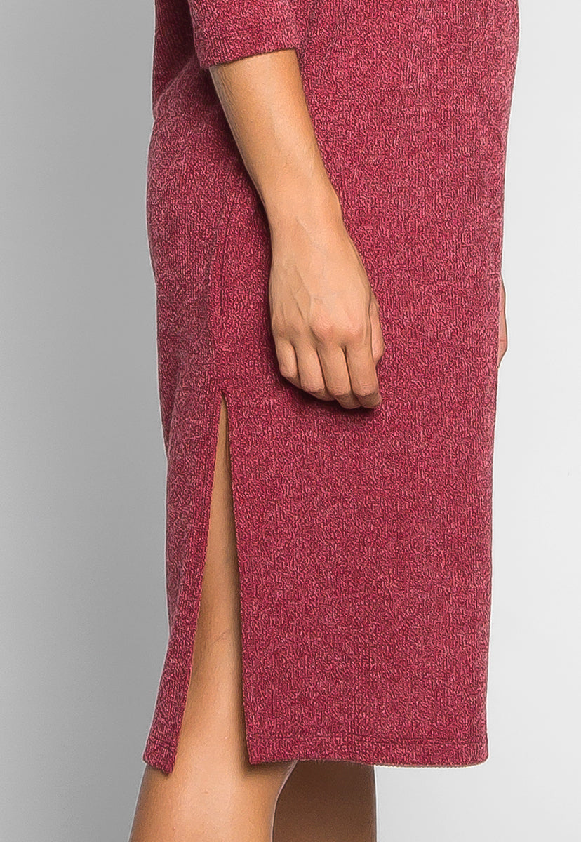 Fashionist Midi Sweater Dress - Dresses - Wetseal