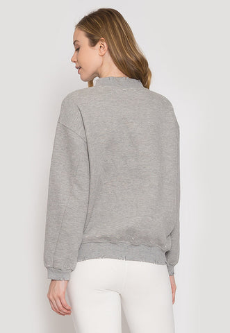Work Out Distressed Sweatshirt