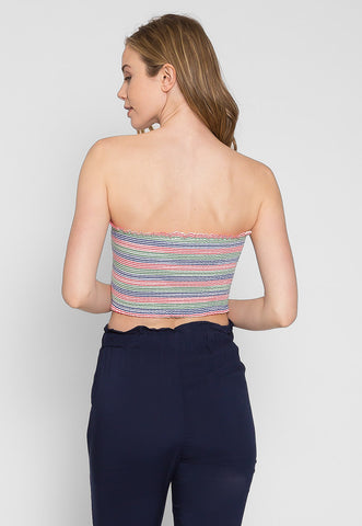 Maybell Tube Top in Pink