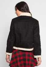 Colorado Sherpa Jacket in Black
