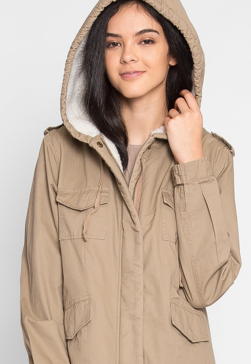 BIRCH UTILITY JACKET - Jackets & Coats - Wetseal