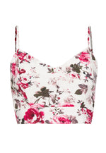 Harlow Floral Cami Crop Top