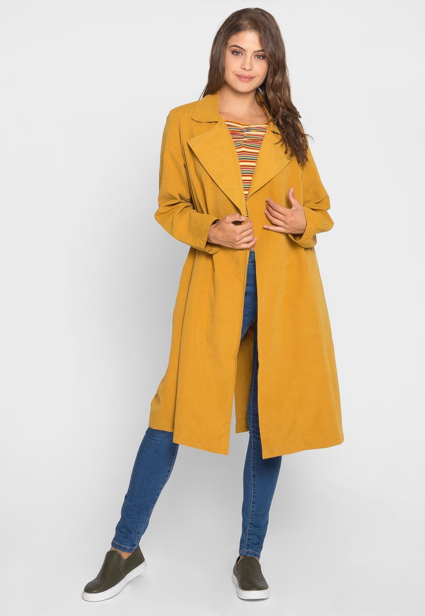 Call Me Lightweight Trench Coat - Jackets & Coats - Wetseal