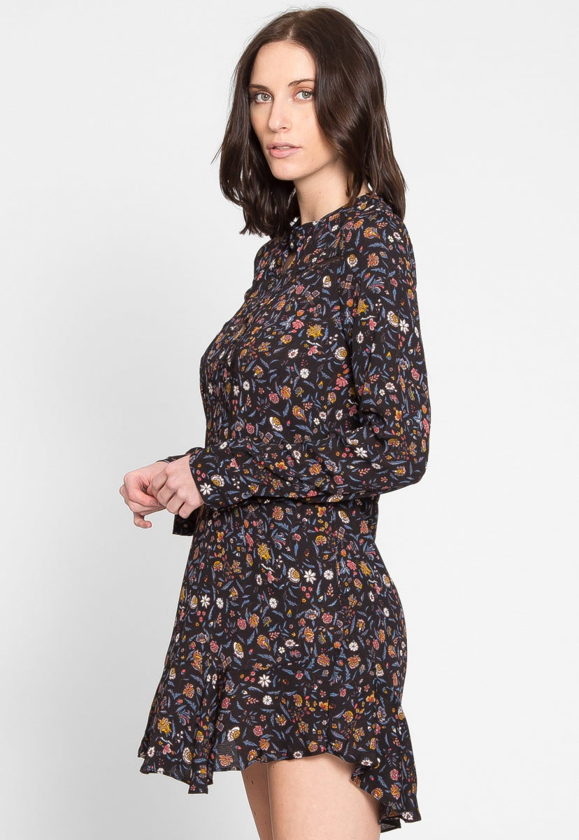Commonwealth Floral Dress - Dresses - Wetseal