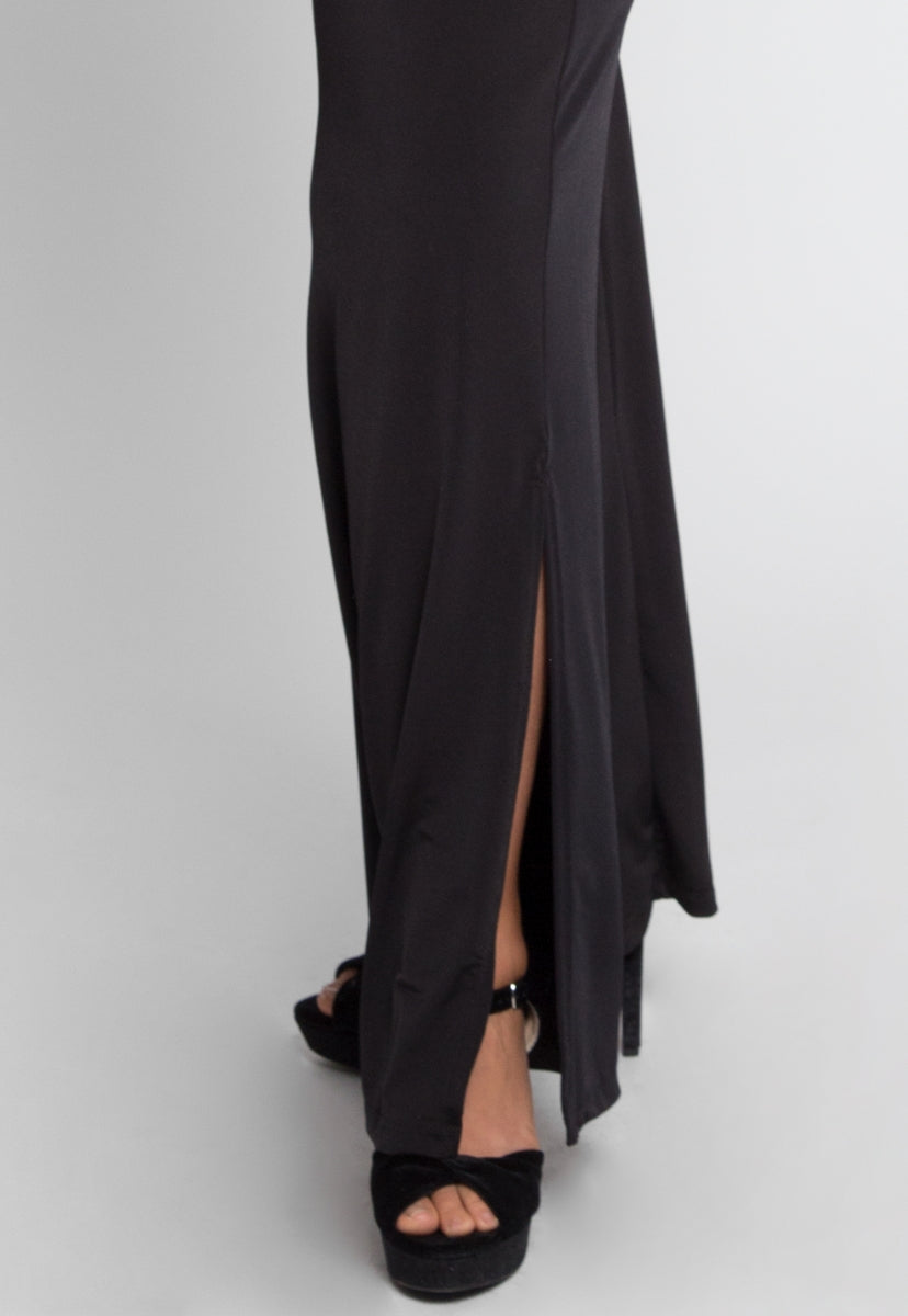 Plus Size Side Slit Wide Leg Pants - Plus Bottoms - Wetseal