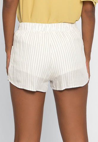 Morning Rise Stripe Shorts