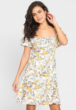 Belvedere Floral Off Shoulder Dress