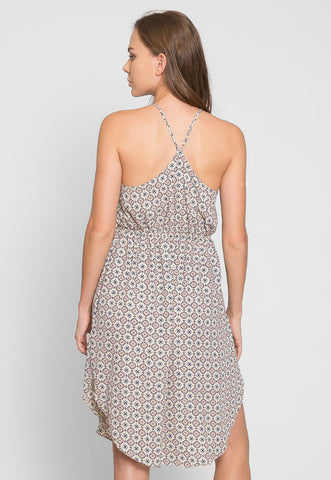 Alamito Printed Day Dress